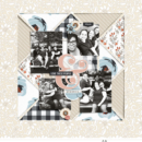 Love These People digital scrapbook page using Gather | Kit and Journal Cards by Sahlin Studio