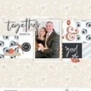 Good Times Together - digital scrapbook page using Gather | Kit and Journal Cards by Sahlin Studio