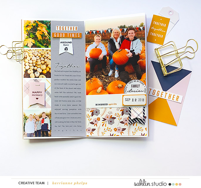 layout created by kaphelps featuring Kindred by Sahlin Studio
