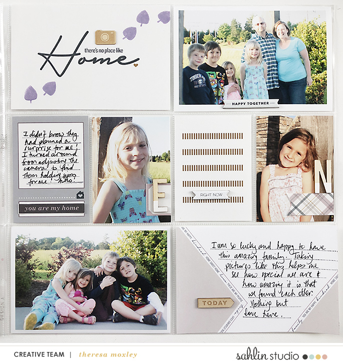 layout created by larkindesign featuring Kindred by Sahlin Studio