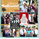 Disney Hollywood Studios Citizens of Hollywood digital Project Life scrapbooking layout using Project Mouse (Movies) by Britt-ish Designs and Sahlin Studio