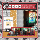 At the Movies, Sneak Peek digital scrapbooking layout using Project Mouse (Movies) by Britt-ish Designs and Sahlin Studio