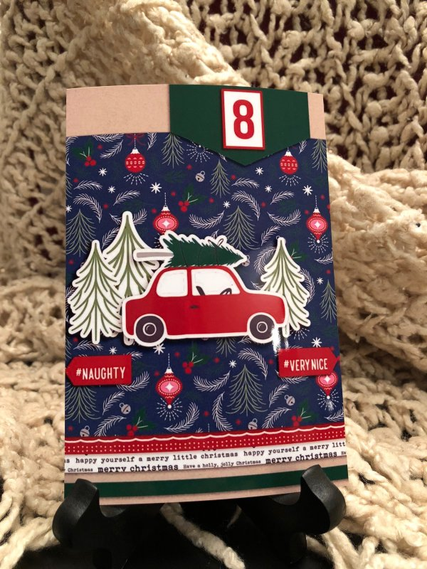 Countdown for Christmas using Home for the Holidays collection by Sahlin Studio - Perfect for Documenting Your December (DYD) or your Christmas!