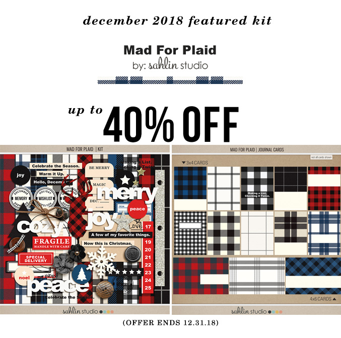 Mad for Plaid by Sahlin Studio