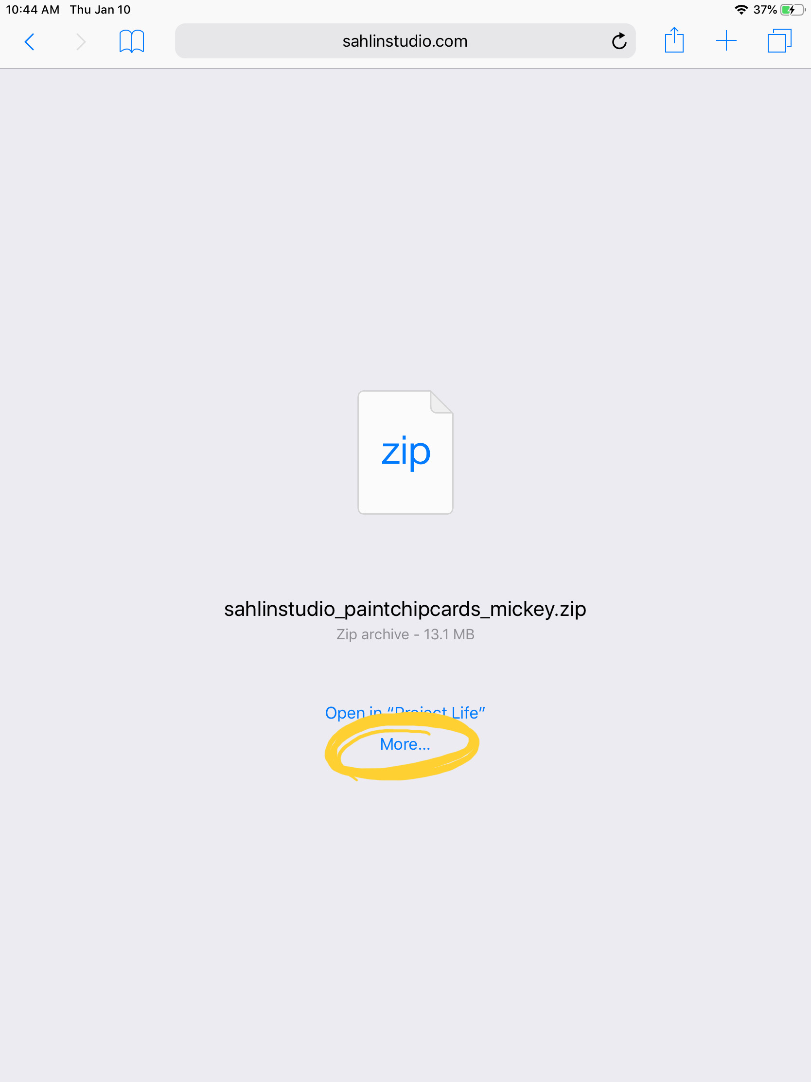 Download, Unzip, and Scrap with Apps!