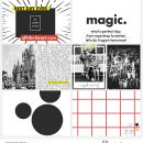 Disney MAGIC digital Project Life scrapbooking layout using Project Mouse (Vibes) Elements by Britt-ish Designs and Sahlin Studio - Perfect for scrapbooking or in your Disney Project Life or Project Mouse albums!!