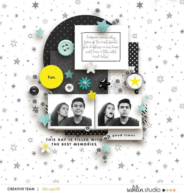 This day is filled with the best memories digital scrapbooking layout using Project Mouse (Vibes) Elements by Britt-ish Designs and Sahlin Studio - Perfect for scrapbooking or in your Disney Project Life or Project Mouse albums!!