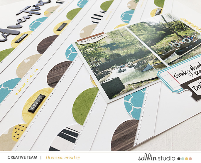 hybrid scrapbooking layout created by larkindesign featuring the May 2019 FREE Template by Sahlin Studio