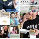 New Orleans Eats digital Project Life scrapbook layout using Project Mouse (New Orleans): Elements by Britt-ish Designs and Sahlin Studio
