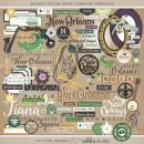 Project Mouse (New Orleans): Elements by Britt-ish Designs and Sahlin Studio - Perfect for your scrapbooking your New Orleans, Tiana, Bayou Moments in your Disney Project Life or Project Mouse album