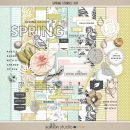Spring Stories (Kit) by Sahlin Studio - Perfect for scrapbooking your spring/ Easter Project Life memories.
