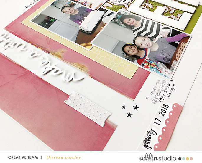 hybrid scrapbooking layout created by larkindesign featuring June 2019 FREE Template by Sahlin Studio