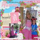 Meeting Disney Aurora Sleeping Beauty Princess digital scrapbook layout using Project Mouse (Princess) Aurora | Kit & Journal Cards by Britt-ish Designs and Sahlin Studio