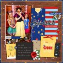 Meeting Disney Snow White Princess digital scrapbook layout using Project Mouse (Princess) Snow White | Kit & Journal Cards by Britt-ish Designs and Sahlin Studio