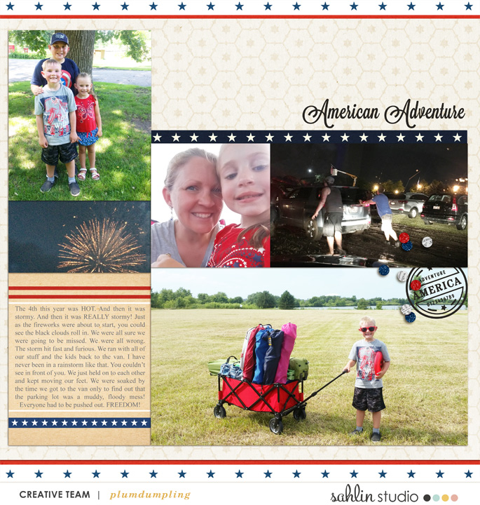 digital scrapbooking layout created by plumdumpling featuring Project Mouse (World): America by Sahlin Studio and Britt-ish Designs