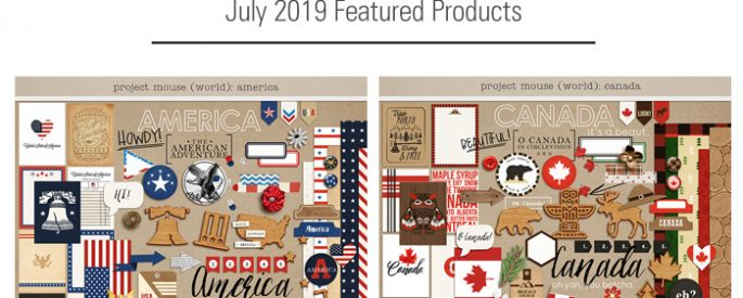 Project Mouse (World): America & Canada by Britt-ish Designs and Sahlin Studio