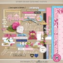 Project Mouse (Princess) Aurora   Kit by Britt-ish Designs and Sahlin Studio - Perfect for documenting Sleeping Beauty or castle or other magical moments in your Project Life / Project Mouse album!!