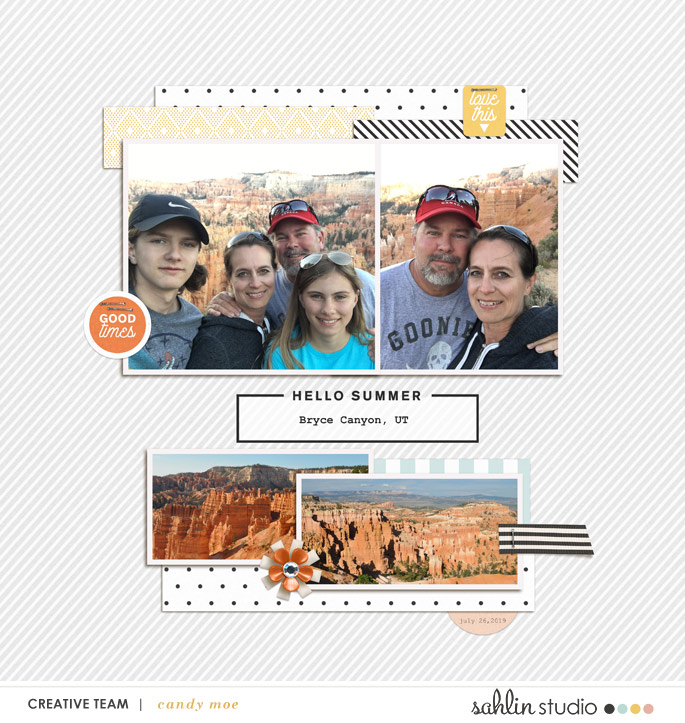 digital scrapbooking layout created by ctmm4 featuring September 2019 FREE Template by Sahlin Studio