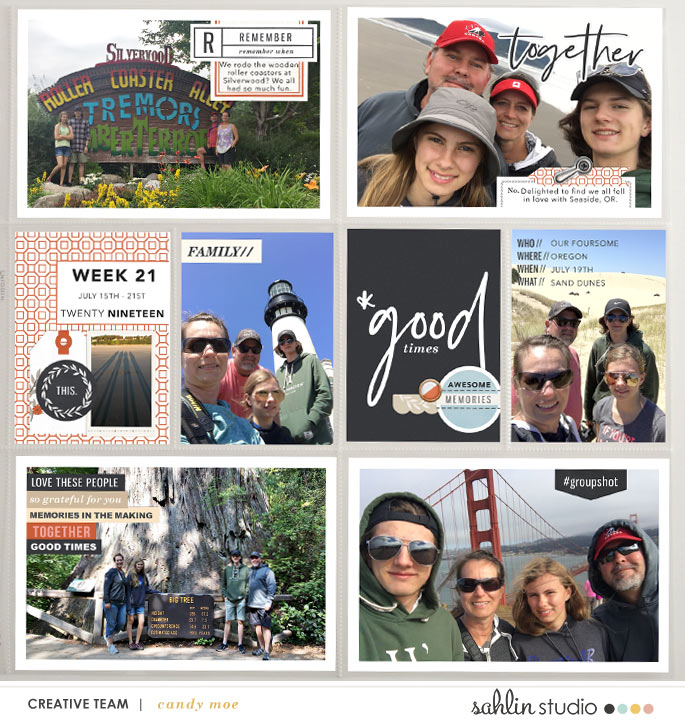 digital scrapbooking layout created by ctmm4 featuring Gather by Sahlin Studio