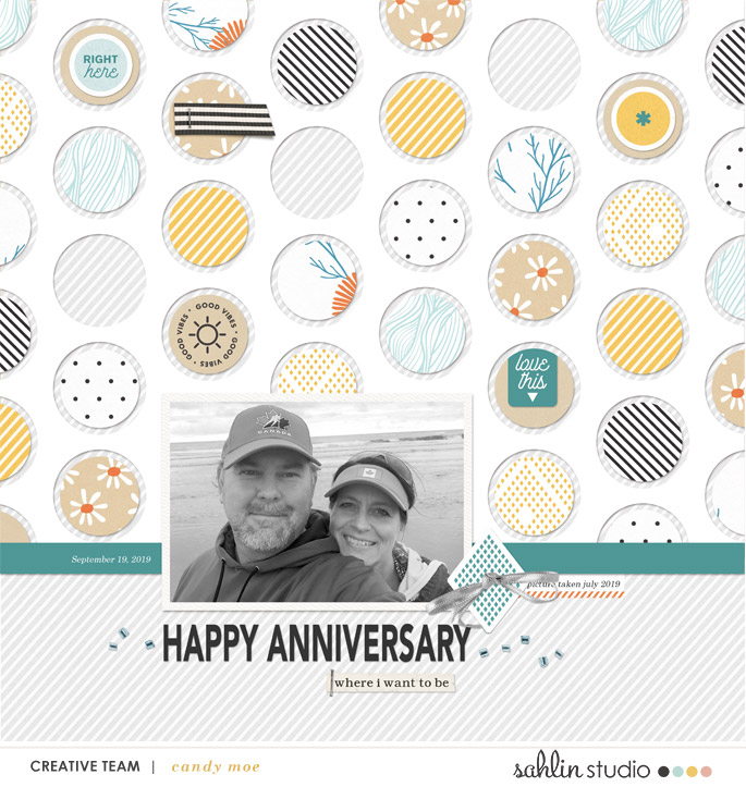 digital scrapbooking layout created by ctmm4 featuring October 2019 FREE Template by Sahlin Studio
