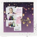 Rapunzel Costume Halloween Don't afraid to Dream Big digital scrapbook page layout using Project Mouse (Princess) Rapunzel | Kit & Journal Cards by Britt-ish Designs and Sahlin Studio