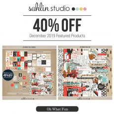 Oh What Fun by Sahlin Studio