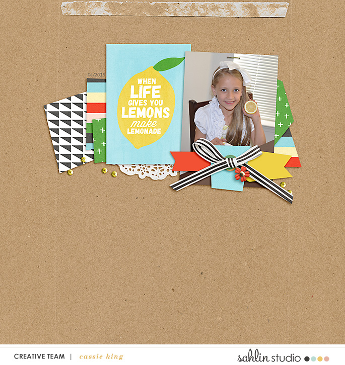 digital scrapbooking layout created by kingsqueen featuring January 2020 Free Template by Sahlin Studio