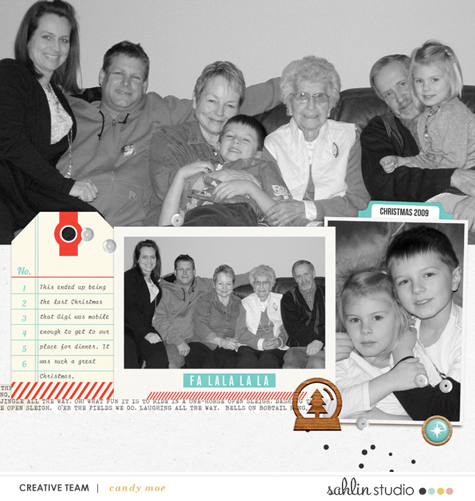 digital scrapbooking layout created by ctmm4 featuring Oh What Fun by Sahlin Studio