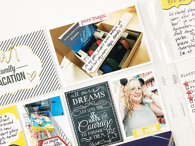 Sahlin Studio CT Theresa Moxley - Super Fun Disney Layout | All About The Prep And Plan