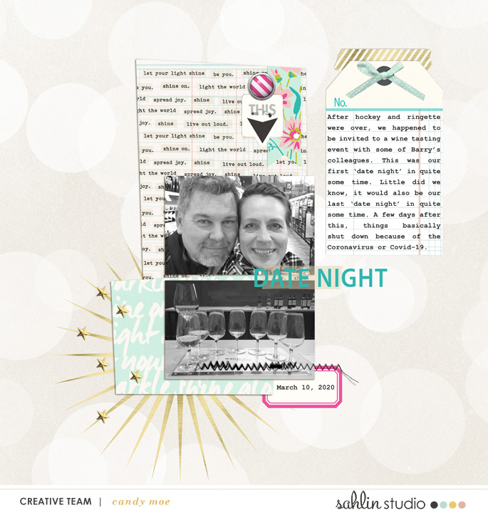 digital scrapbooking layout created by ctmm4 featuring May 2020 FREE Template by Sahlin Studio