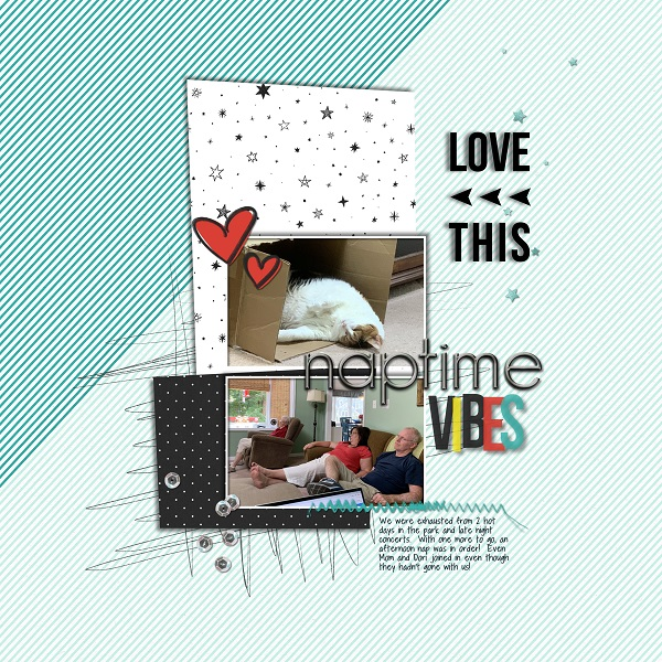 digital scrapbooking layout created by disneysheryl65 featuring May 2020 Free Template by Sahlin Studio