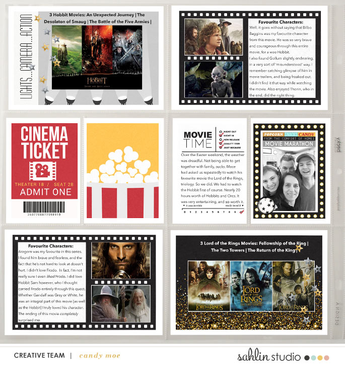 digital scrapbooking layout created by ctmm4 featuring Project Mouse (Movies) by Sahlin Studio and Britt-ish Designs