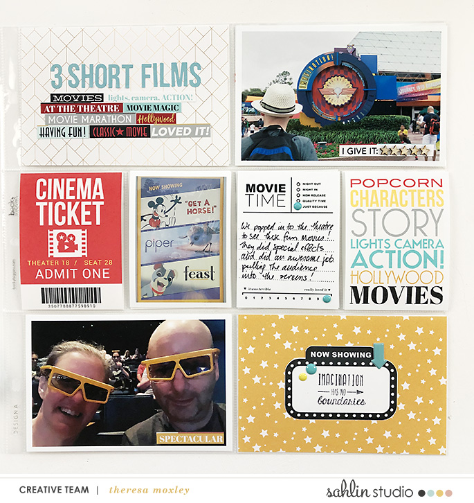 hybrid digital scrapbooking layout created by larkingdesign featuring Project Mouse (Movies) by Sahlin Studio and Britt-ish Designs