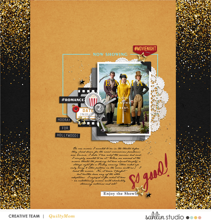 digital scrapbooking layout created by quiltymom featuring Project Mouse (Movies) by Sahlin Studio and Britt-ish Designs