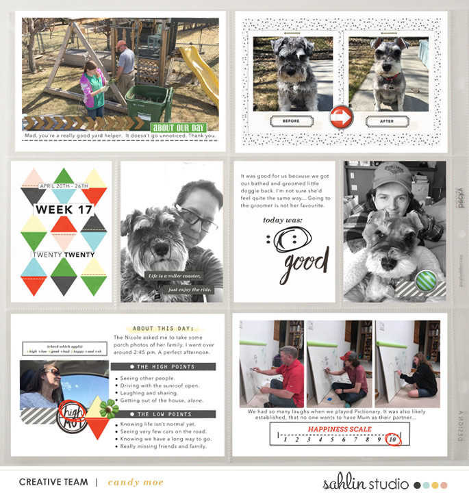digital scrapbooking layout created by ctmm4 featuring Highs and Lows by Sahlin Studio