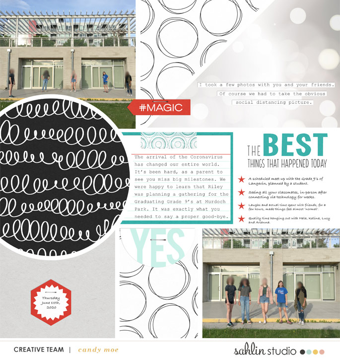 digital scrapbooking layout created by ctmm4 featuring July 2020 FREE Template by Sahlin Studio