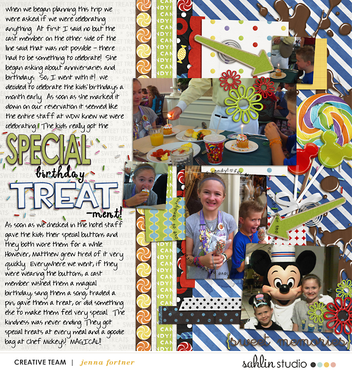 digital scrapbooking layout created by jenna featuring Candy Shop by Sahlin Studio and Britt-ish Designs