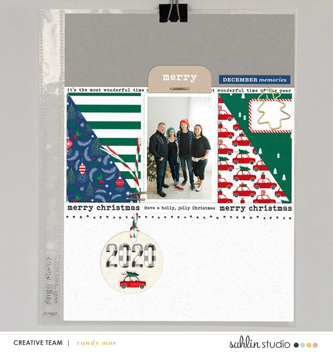 digital scrapbooking layout created by ctmm4 featuring Home for the Holidays by Sahlin Studio