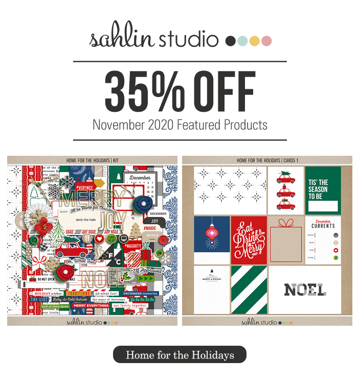 Home for the Holidays by Sahlin Studio