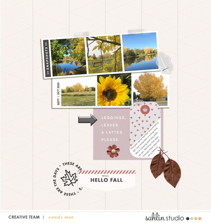 digital scrapbooking layout created by ctmm4 featuring October 2020 FREE Template by Sahlin Studio