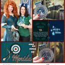 Meeting Merida the wisps are here digital Project Life scrapbook page layout using Project Mouse (Princess) Merida   Kit & Journal Cards by Britt-ish Designs and Sahlin Studio