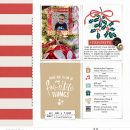 Holiday Favorites December digital scrapbooking layout using Favorite Things (Journal Cards) by Sahlin Studio