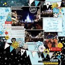 Now it's Time to Say Goodbye Disney digital scrapbooking layout using the Project Mouse (See Ya Real Soon) by Britt-ish Designs and Sahlin Studio