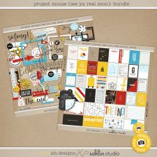 Project Mouse (See Ya Real Soon) BUNDLE by Britt-ish Designs and Sahlin Studio