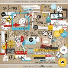 Project Mouse (See Ya Real Soon) Elements by Britt-ish Designs and Sahlin Studio