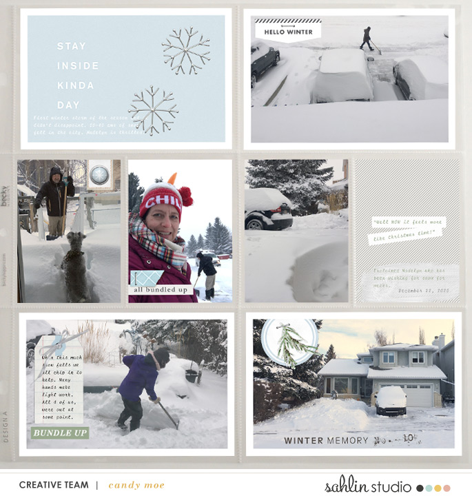 digital scrapbooking layout created by ctmm4 featuring Winter Stories by Sahlin Studio