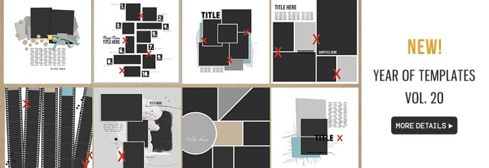 Year of Templates vol. 20 by Sahlin Studio