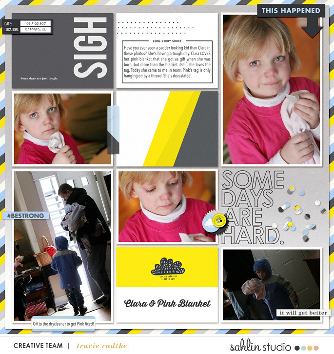 digital scrapbooking layout created by tkradtke featuring templates and quickpages by Sahlin Studio
