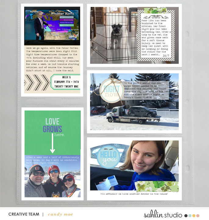 digital scrapbooking layout created by ctmm4 featuring Down the Lane by Sahlin Studio