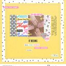 Magic Digital Scrapbooking Layout using Project Mouse (Pop) by Britt-ish Designs